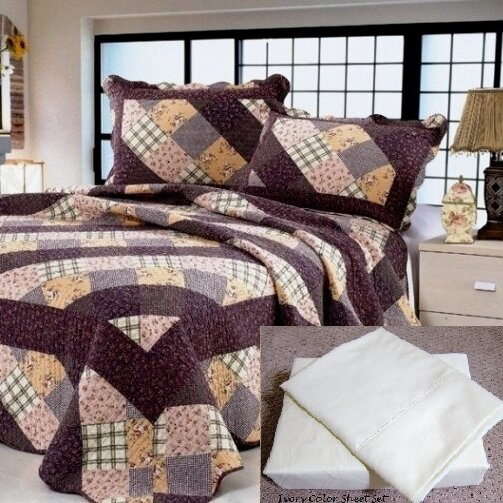 Reversible Quilt Set by Home Sensation