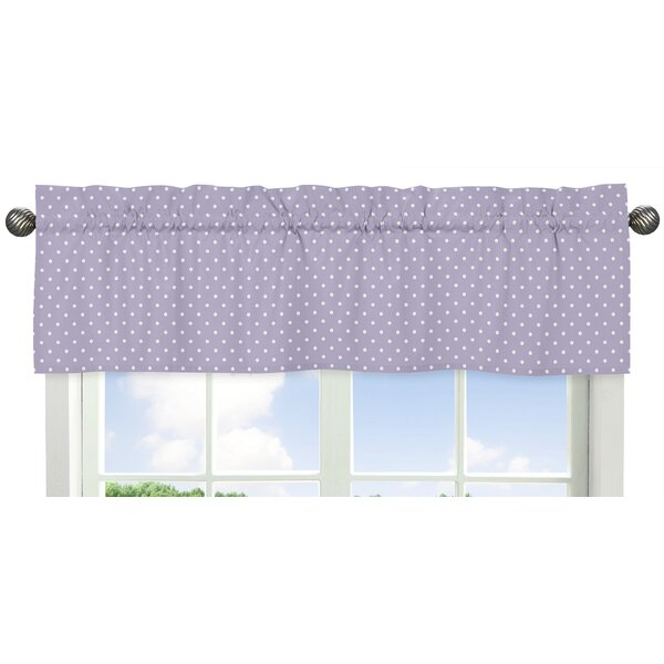Sloane Polka Dot 54 Window Valance by Sweet Jojo Designs