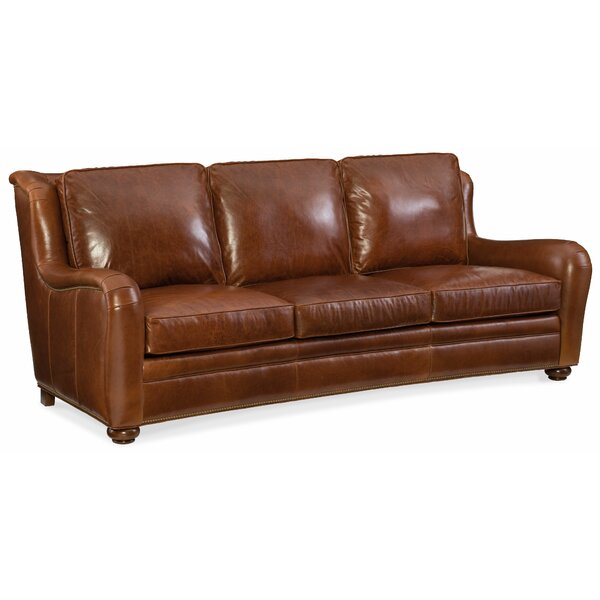 Majesty Leather Sofa by Bradington-Young