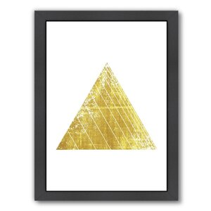 Triangle Framed Graphic Art by East Urban Home