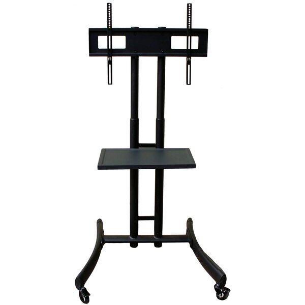 Basic A/V Mobile Monitor Cart with shelf by Rocelco