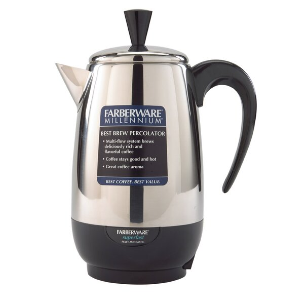 8-Cup Stovetop Coffee Maker by Farberware