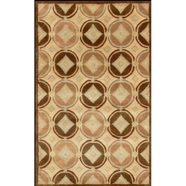 Lyke Brown Area Rug by Red Barrel Studio