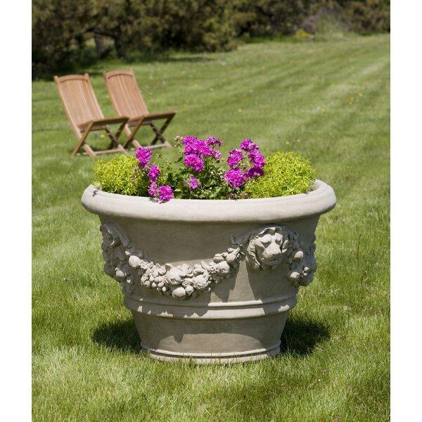 Morris Cast Stone Pot Planter by Campania International