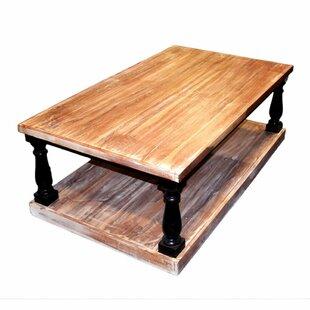 Blasa Rectangular Wooden Coffee Table with Storage Gracie Oaks