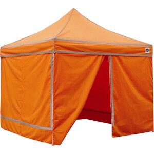 4 Pack Hi Vis 10 Ft. W x 10 Ft. D Canopy Cover