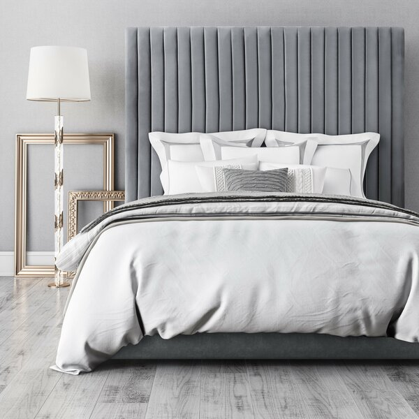 Abid Upholstered Platform Bed by Everly Quinn