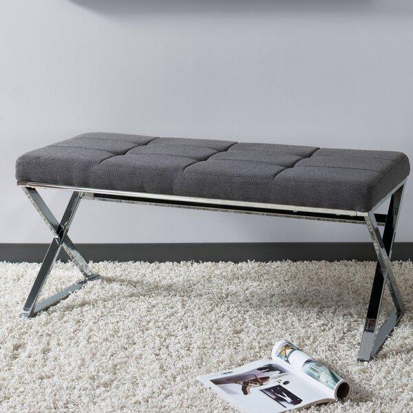 Onya Modern Tufted Bench by Orren Ellis