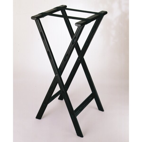 Plastic Tray Stand with Strap by Central Specialties LTD