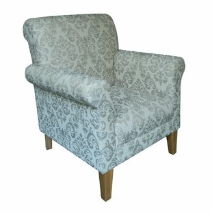 Brogden Damask Arm Chair ...