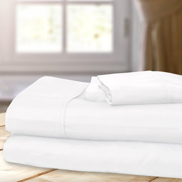 1000 Thread Count 4 Piece Sheet Set by Hotel Exclusive