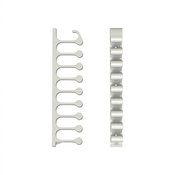 Plastic Wall Mounted Hose Holder (Set of 2) by Stalwart