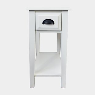 Price comparison Erin End Table With Storage ByDarby Home Co