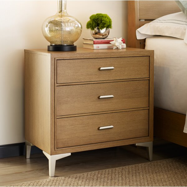 Hygge 3 Drawer Nightstand by Rachael Ray Home