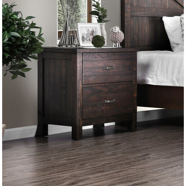 Mcmillon 2 Drawer Nightstand by Gracie Oaks
