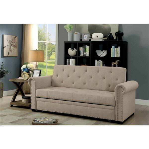Vesuvio Twin Or Smaller Convertible Sofa By Canora Grey