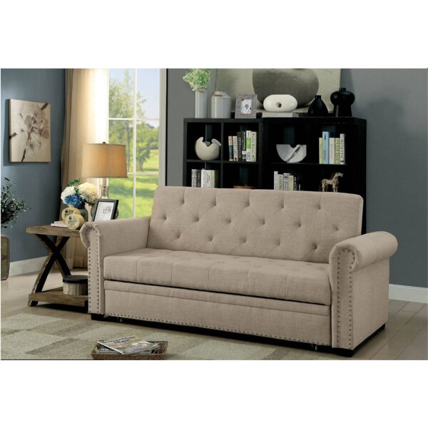 Vesuvio Twin Or Smaller Convertible Sofa By Canora Grey