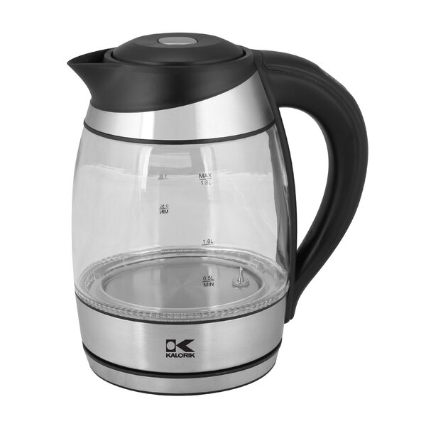 1.8-qt. Glass Electric Tea Kettle by Kalorik