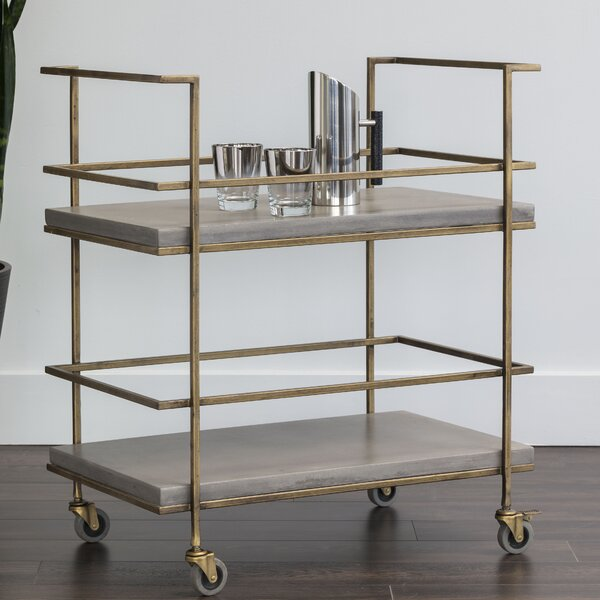 Belinda Bar Cart by 17 Stories
