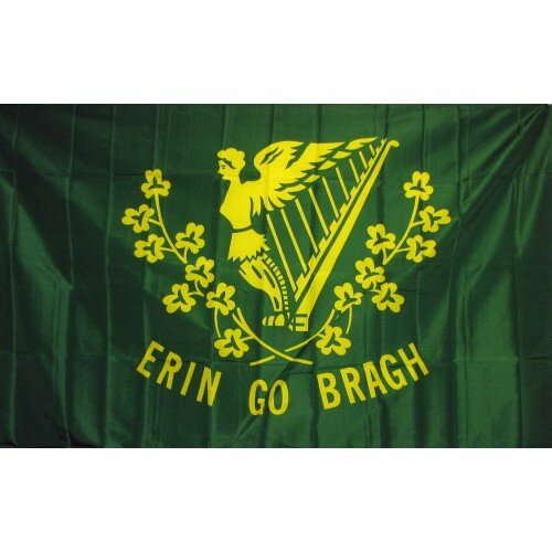 Erin Go Bragh Historical Traditional Flag by NeoPlex