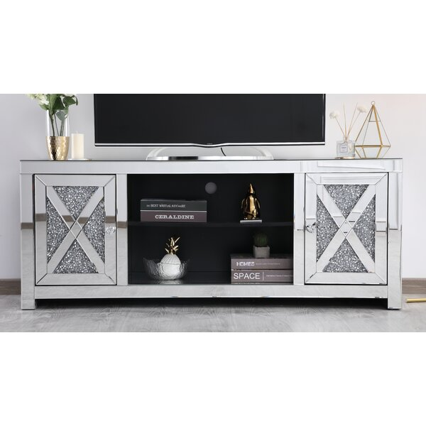 Review Aaron TV Stand For TVs Up To 65