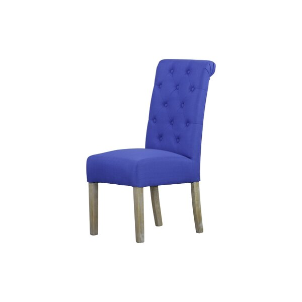 Wotring Upholstered Dining Chair (Set Of 2) By Breakwater Bay