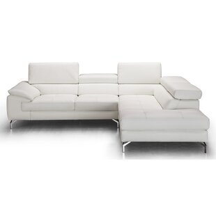 Cool Chambersburg Leather Sectional Gamerscity Chair Design For Home Gamerscityorg