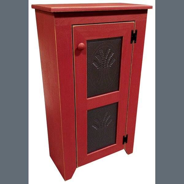 Ossett Punched Tin Accent Cabinet by August Grove August Grove