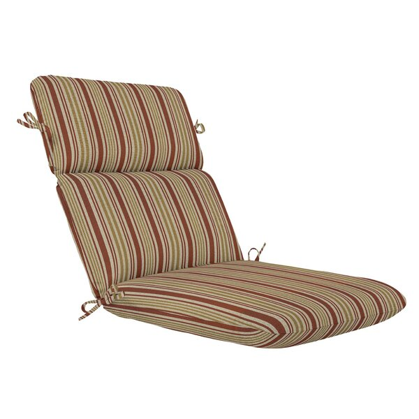 High Back Indoor/Outdoor Chaise Lounge Cushion