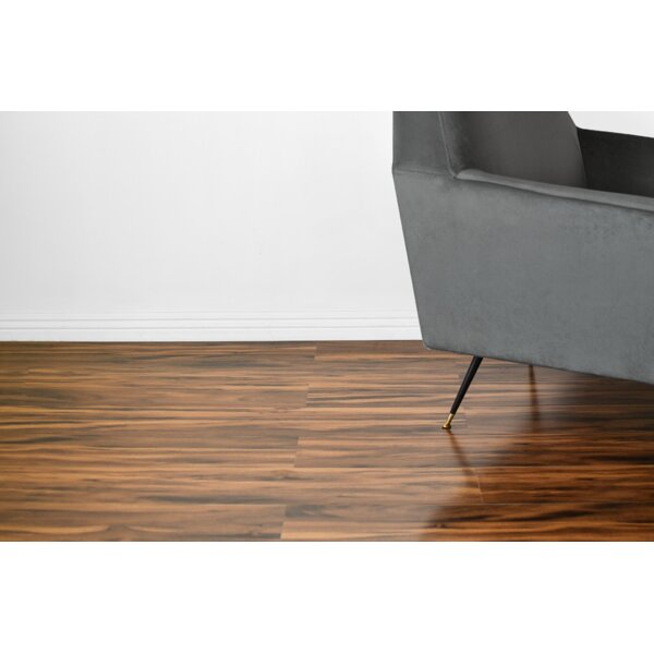 Vance 7 x 48 x 12mm Oak Laminate Flooring in Brown by Serradon