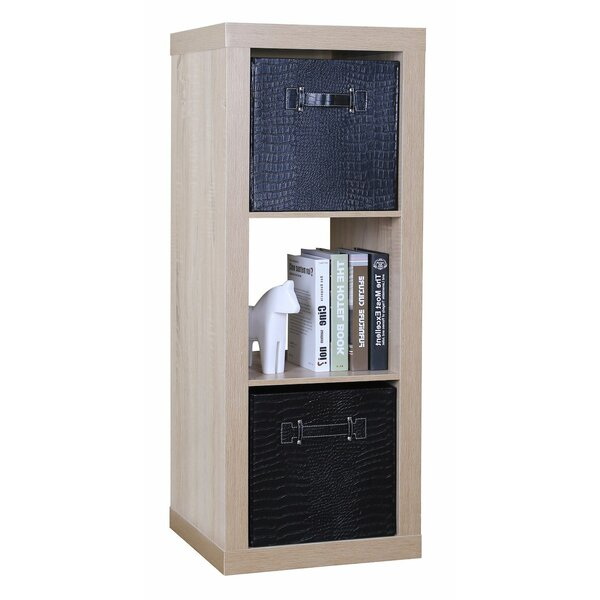 3 Shelf 44.5 Standard Bookcase by Tidy Living