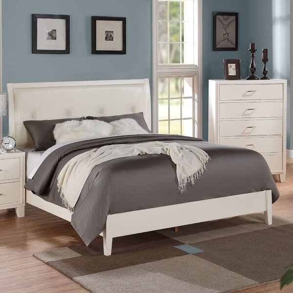 Schick Upholstered Standard Bed by Latitude Run