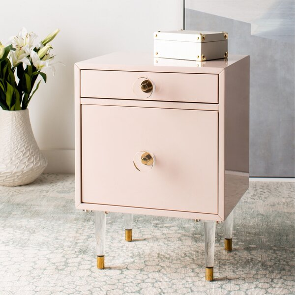 Resaca End Table by Everly Quinn