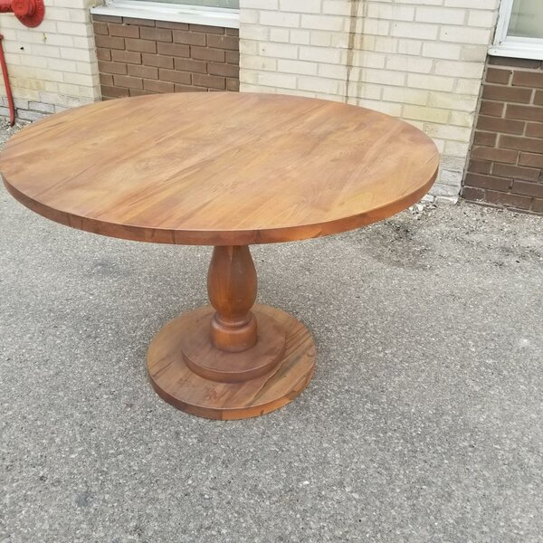 Muse-Orlinoff Maple Solid Wood Dining Table by August Grove