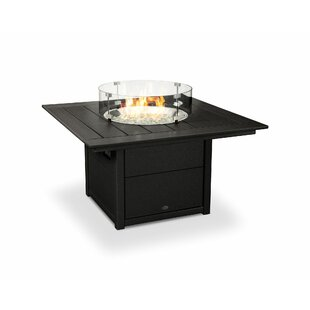 Price comparison Polyresin Propane Gas Fire Pit Table By POLYWOOD®