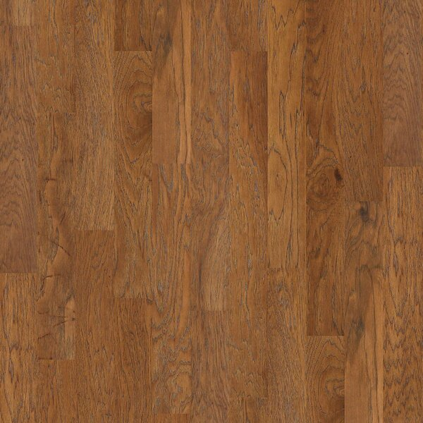Victorian Hickory 4.8 Engineered  Hickory Hardwood Flooring in Warm Sunset by Shaw Floors