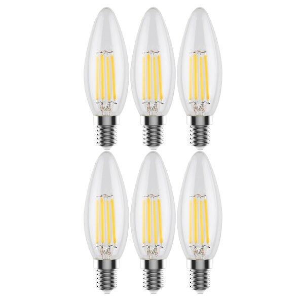 4W E12 LED Light Bulb (Set of 6) by Urbanest