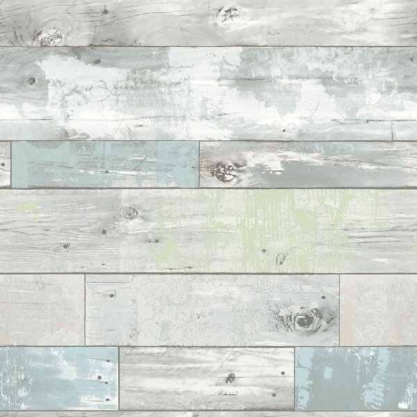 Beachwood Peel And Stick Wallpaper Roll by WallPops!