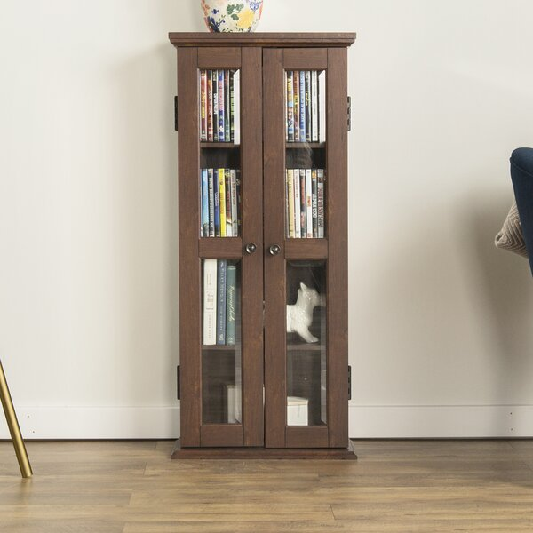 Double Doors Wood Multimedia Cabinet by Red Barrel