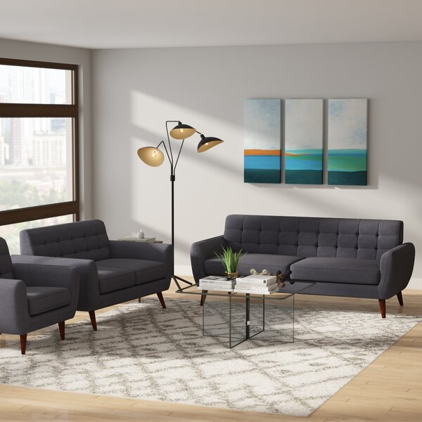 Philip 3 Piece Living Room Set by Ivy Bronx