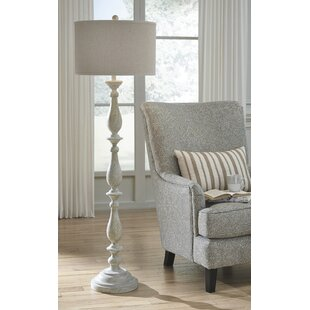 French country floor lamps youll love wayfair whipkey 62 traditional floor lamp aloadofball Gallery