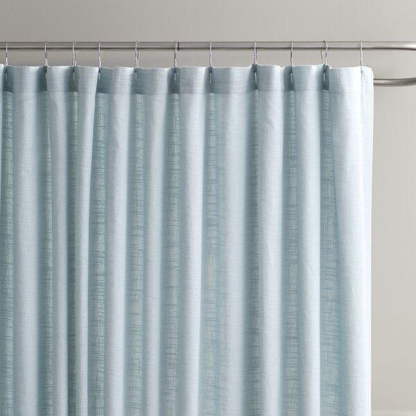 Amanda Cotton Shower Curtain by Birch Lane™