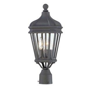Read Reviews Harrison Outdoor 3-Light Lantern Head By Great Outdoors by Minka
