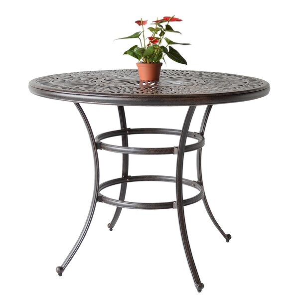 Kristy Bar Table with Ice Bucket by Darby Home Co