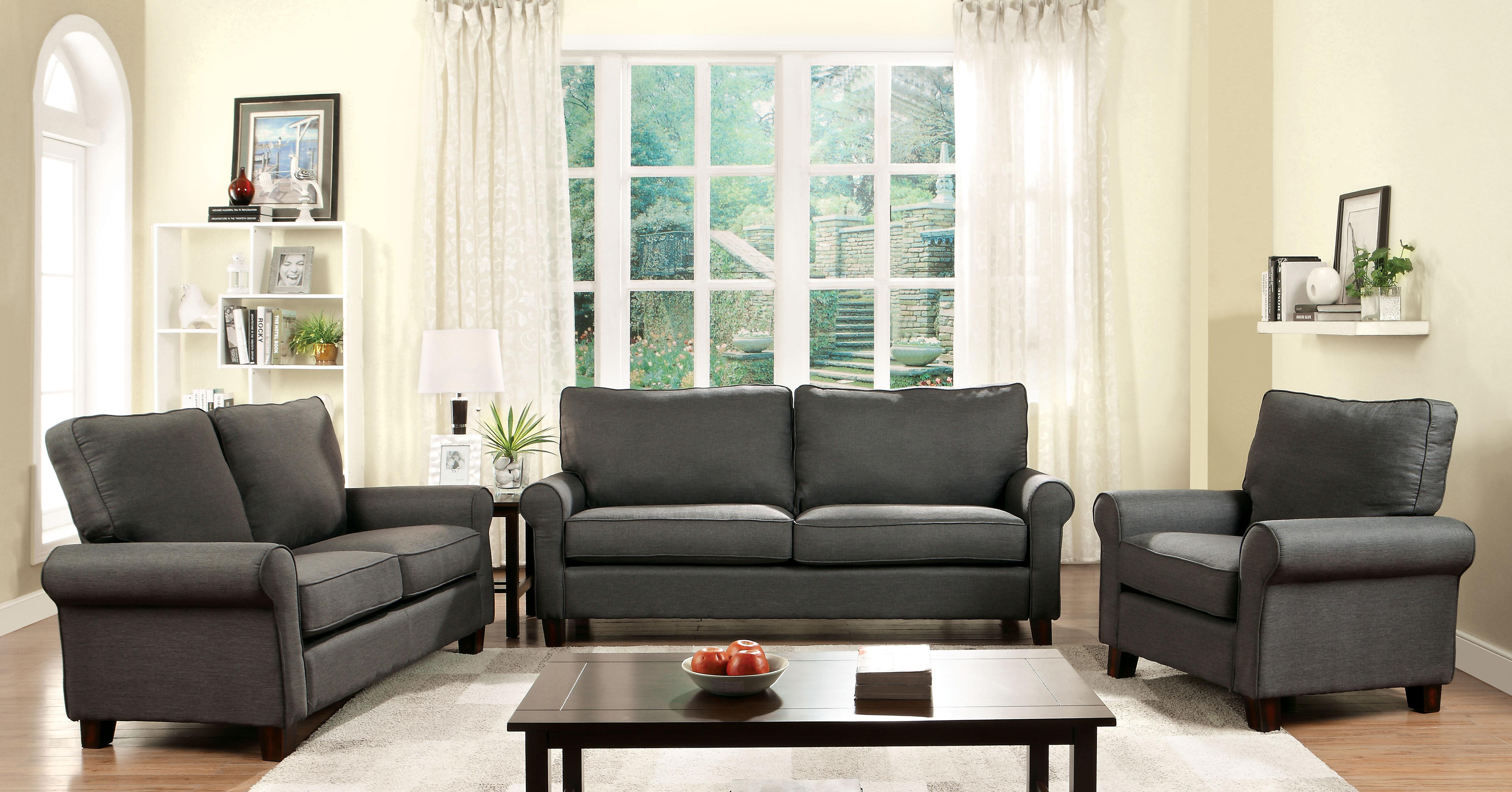 Alcott Hill Somerville Configurable Living Room Set U0026 Reviews | Wayfair