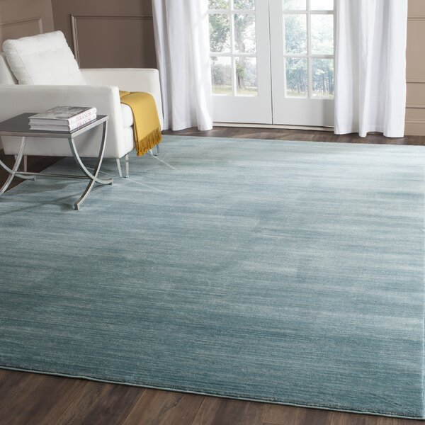 Harloe Aqua Area Rug by Zipcode Design