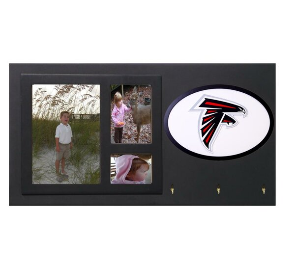 NFL Key Holder with Picture Frames by Fan Creations