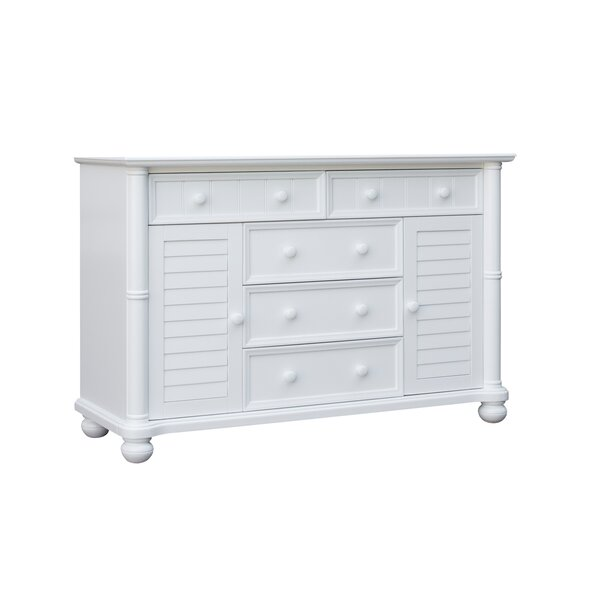 Jalyn 5 Drawers Combo Dresser by Rosecliff Heights