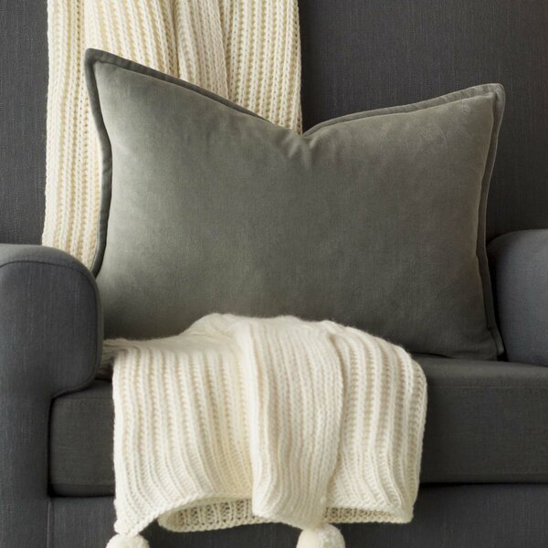 Cotton Lumbar Pillow by Mercer41