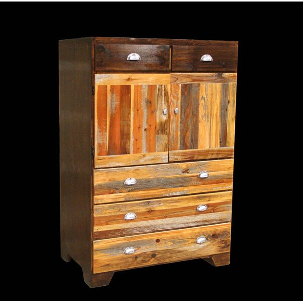 Urban Rustic Cowboy 5 Drawer Combo Dresser by Utah Mountain